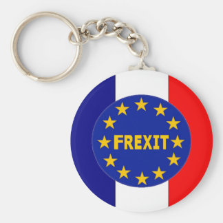 Key Chain French Flag EU Frexit