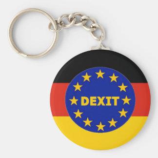 Key Chain German Flag EU Dexit
