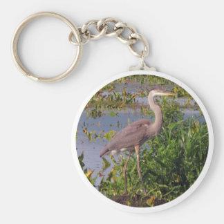 KEY CHAIN-Great Blue Heron