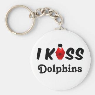 Key Chain I Kiss Dolphins