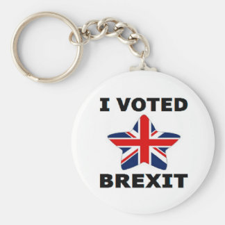 Key Chain I Voted Brexit