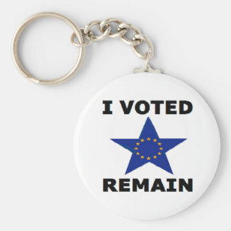 Key Chain I Voted Remain