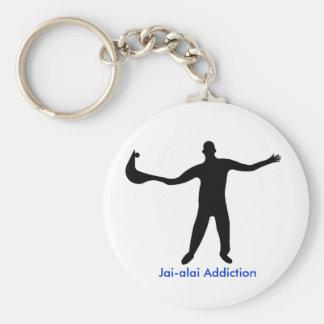 Key Chain Jai-alai Addiction