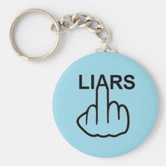 Key Chain Liars Flip