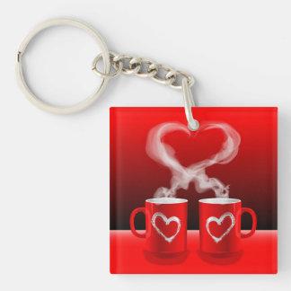 Key Chain Love Mugs