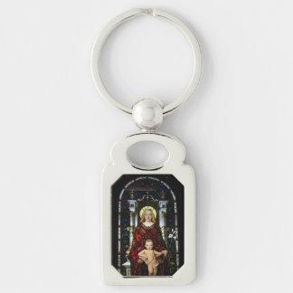 Key Chain--Madonna and Child Keychain
