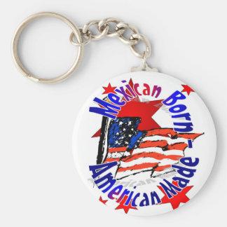 Key Chain, Mexican American Keychain