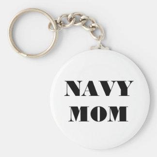 Key Chain Navy Mom