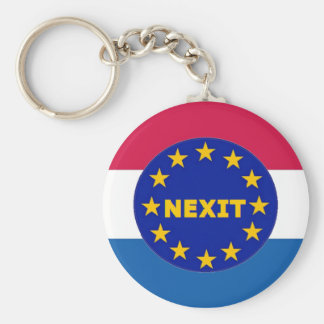 Key Chain Netherlands Flag EU Nexit
