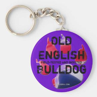 Key chain old English Bulldog