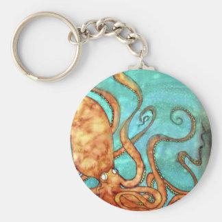 Key Chain: Original Handpainted Silk by Kim Keychain
