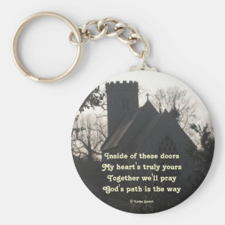 Key Chain Poem Ode To Pray By Ladee Basset