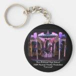 """Key Chain-PRHS 2009 Musical """"Carousel"""""""