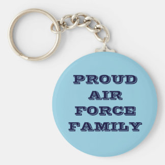 Key Chain Proud Air Force Family