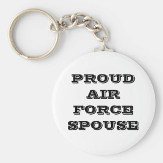 Key Chain Proud Air Force Spouse