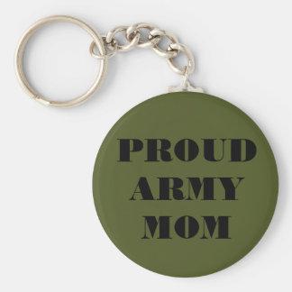 Key Chain Proud Army Mom