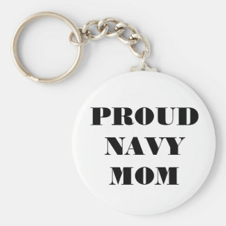 Key Chain Proud Navy Mom