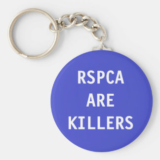 Key Chain RSPCA Are Killers