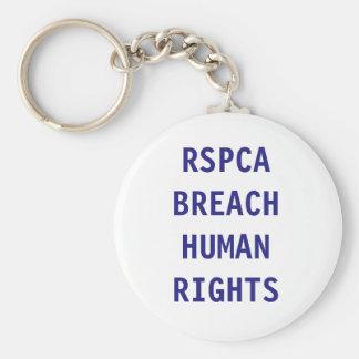 Key Chain RSPCA Breach Human RIghts