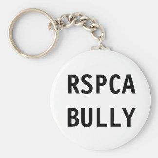 Key Chain RSPCA Bully Basic Round Button Keychain