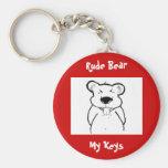 Key Chain - Rude Bear
