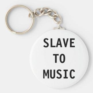 Key Chain Slave To Music