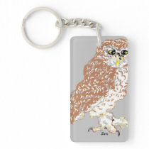 Key Chain Spotted Owl