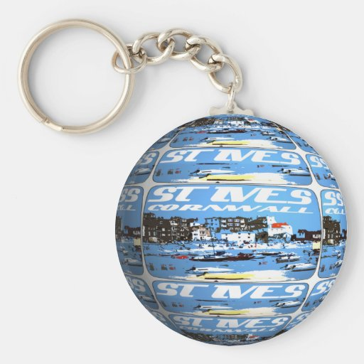 Key Chain - St Ives Planet