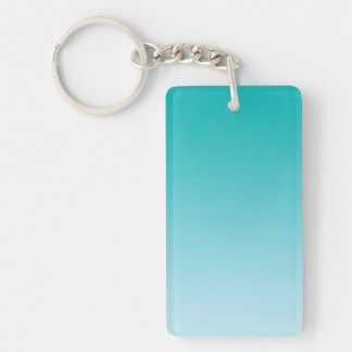 Key Chain: TEAL OMBRE Keychain