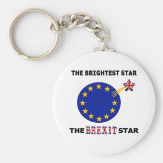 Key Chain The Brexit Star British Flag