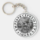 Key Chain Thor rune shield