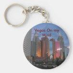 Key chain: Vegas On my Mind