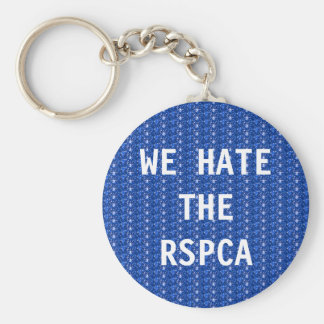 Key Chain We Hate The RSPCA Basic Round Button Keychain