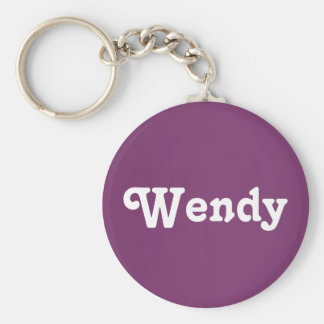 Key Chain Wendy