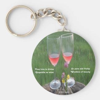 Key Chain Wine Poem By Ladee Basset