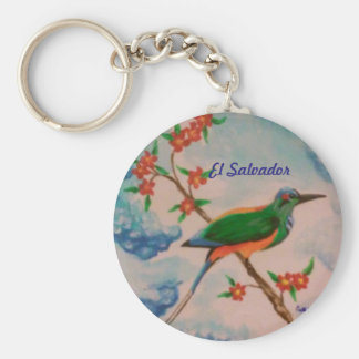 Key chain with bird from El Salvador