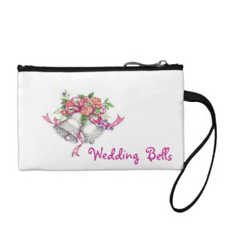 Key Coin Clutch Bag(Wedding Bells)