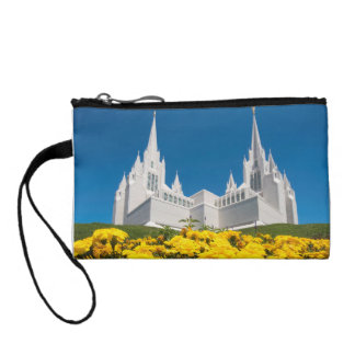 Key Coin Clutch with San Diego Temple