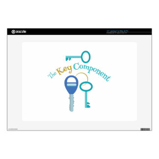 "Key Component 15"" Laptop Decal"