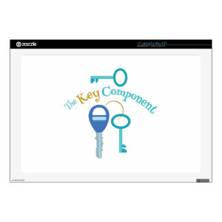 Key Component Decal For Laptop