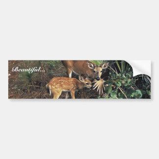 Key Deer Bumper Sticker