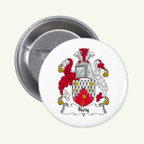 Key Family Crest Button
