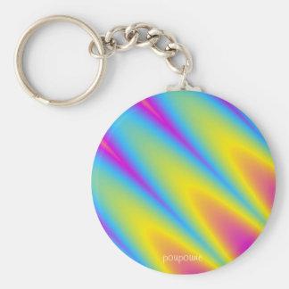key finder basic round button keychain