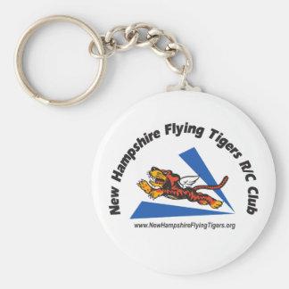 Key fobs with NH Flying Tigers logo Keychain