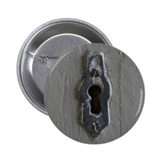 Key Hole 2 Inch Round Button
