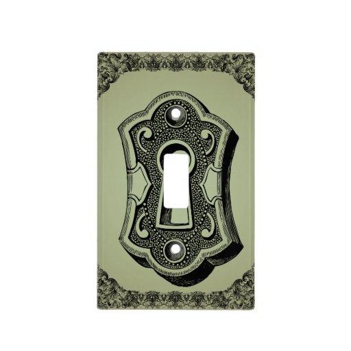 Key Hole Vintage Steampunk Light Switch Cover Zazzle