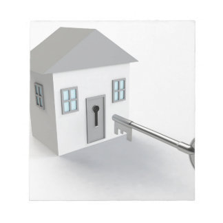 Key Home, Real Estate Agent, Selling Notepad