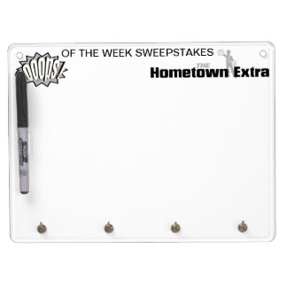 Key Hook Dry Erase Board
