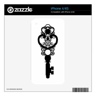 Key I Decals For iPhone 4