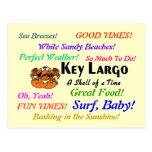 Key Largo crab Postcard